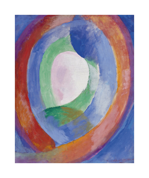 Circular Forms, Moon No. 1, 1913 Fine Art Print by Robert Delaunay