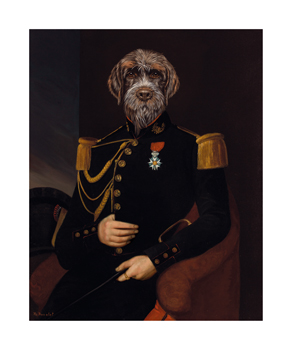 Le Commandant Fine Art Print by Thierry Poncelet