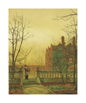 Autumn Gold Fine Art Print by John Atkinson Grimshaw