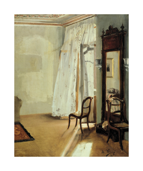 The Balcony Room Fine Art Print by Adolph Menzel