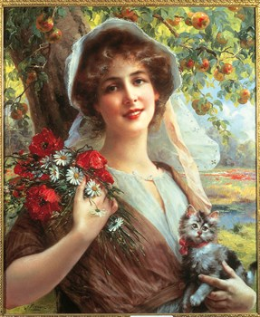 Country Summer Print by Emile Vernon