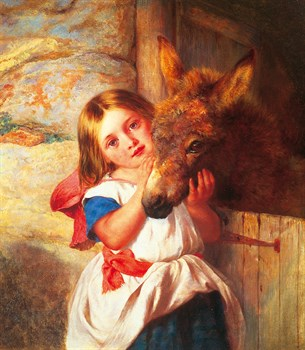 Best Friends Print by George Augustus Holmes