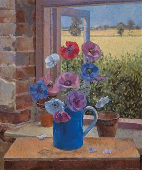 Cederic's Poppies Print by John Morley