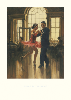 Dance to the Music Print by Raymond Leech