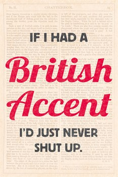 Accents I Print by Tom Frazier