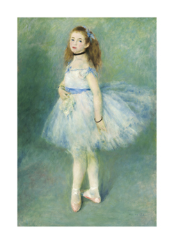 The Dancer, 1874 Fine Art Print by Pierre Auguste Renoir