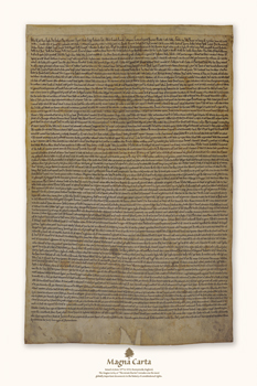 Magna Carta Fine Art Print by 13th Century English School