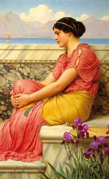 Absence Makes the Heart Grow Fonder Print by John William Godward