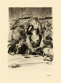 A' Enghien Fine Art Print by Almery Lobel-Riche