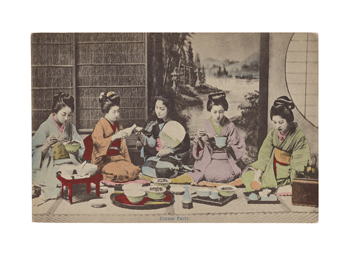 Dinner Party Fine Art Print by The Kyoto Collection