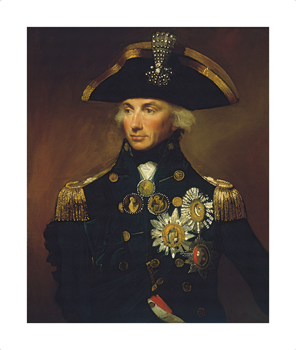 Admiral Sir Horatio Nelson by Lemuel Francis Abbott Standard