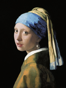 A Girl with a Pearl Earring Print by Jan Vermeer