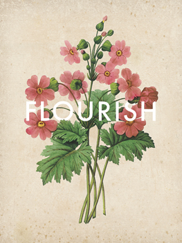 Flourishing Florals Print by Rufus Coltrane