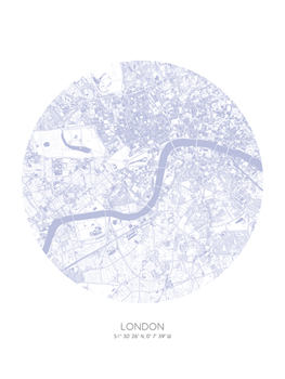Sphere - London Print by Olivier Gratton-Gagne