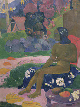 Her Name is Vairaumati Print by Paul Gauguin