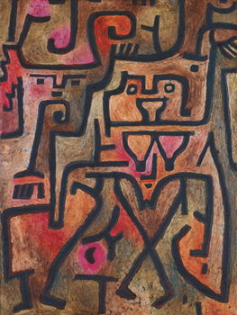 Forest Witches, 1938 Print by Paul Klee