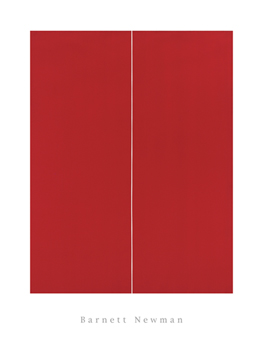 Be I Canvas Print by Barnett Newman