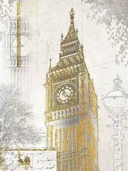 Big Ben Print by Ben James