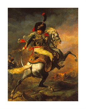 An Officer of the Imperial Guard Print by Theodore Gericault