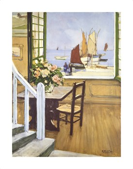 A Breton Window Fine Art Print by Raymond Wintz