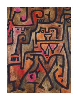 Forest Witches, 1938 Fine Art Print by Paul Klee