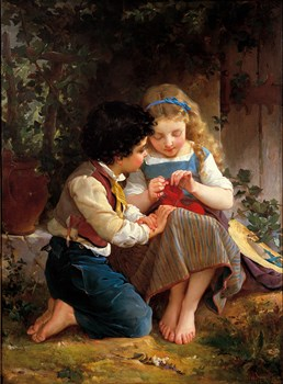 A Special Moment Print by Emile Munier