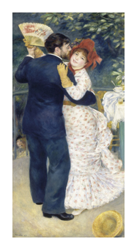 Dance in the Country 1883 Fine Art Print by Pierre Auguste Renoir