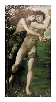Phyllis and Demophoon Fine Art Print by Sir Edward Burne-Jones