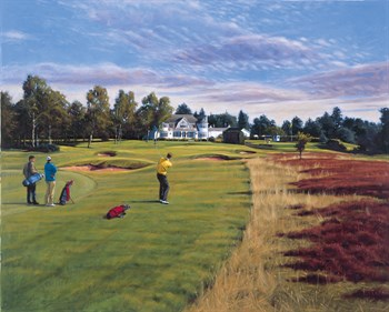 Blairgowrie (18th Hole) Fine Art Print by Peter Munro