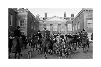 Country House Meet Fine Art Print by The Chelsea Collection