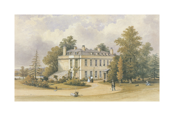 Country Estate Fine Art Print by 19th Century English School