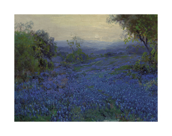 Bluebonnets in Spring Fine Art Print by Julian Onderdonk
