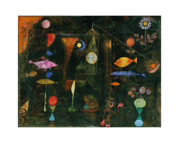 Fish Magic Print by Paul Klee