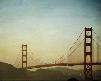 A Clear San Francisco Sky Print by Irene Suchocki