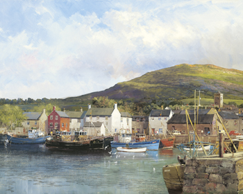 Dingle Harbour Print by Clive Madgwick