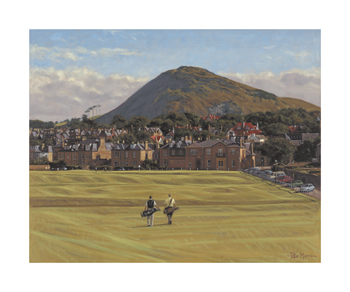 18th North Berwick Fine Art Print by Peter Munro