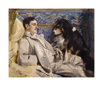 Clarence Barker, 1885 Fine Art Print by Anders Zorn