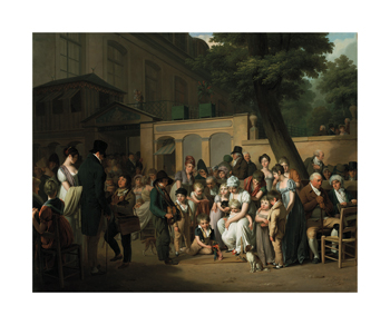 Entrance to the Jardin Turc, 1812 Fine Art Print by Louis Leopold Boilly