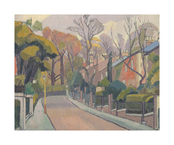 Cambrian Road, Richmond Fine Art Print by Spencer Frederick Gore
