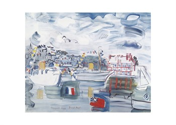 Deauville 1938 Print by Raoul Dufy