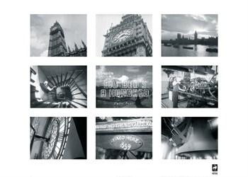 Big Ben's One Hundred Fine Art Print by British Pathe
