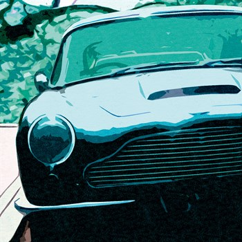 Aston Classic Print by Malcolm Sanders
