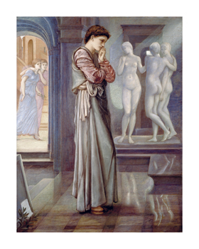 Pygmalion and the Image - The Heart Desires Fine Art Print by Sir Edward Burne-Jones