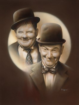 Double Trouble Print by Stuart Coffield