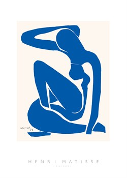 Blue Nude, I Print by Henri Matisse