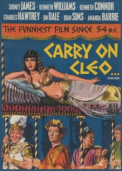 Carry on Cleo Print by The Vintage Collection