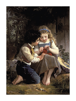 A Special Moment Fine Art Print by Emile Munier