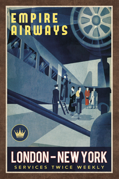 Empire Airways Print by Collection Caprice