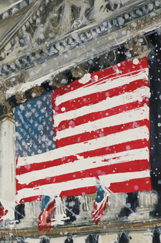 A Study of NY Stock Exchange Canvas Print by Susan Brown