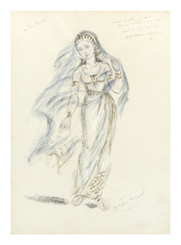 Designs For Cleopatra LII Fine Art Print by Oliver Messel
